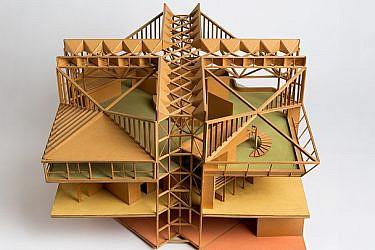 דוד ינאי: אדריכלות וגנטיקה. צילום: אלעד שריג