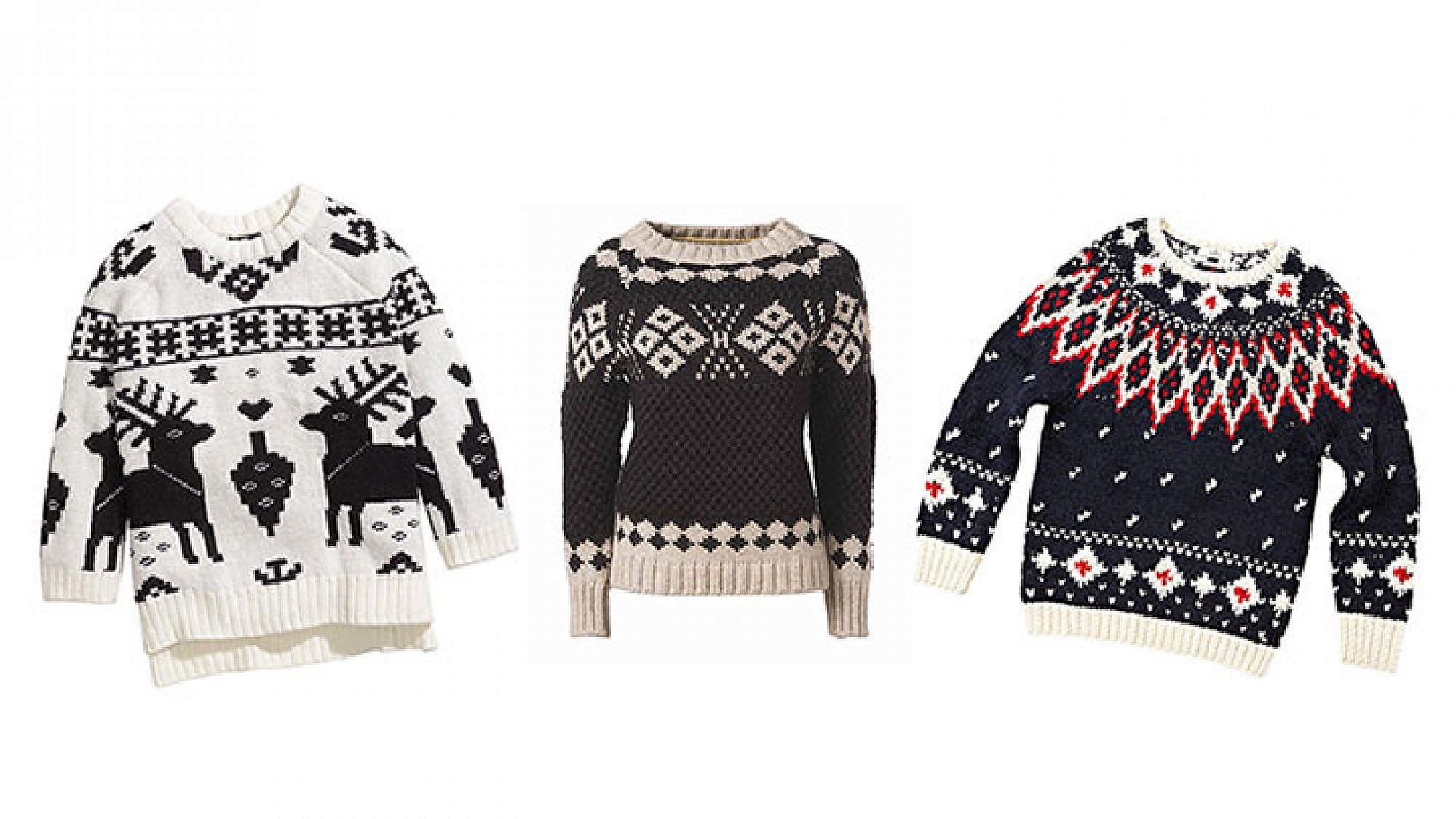 סוודרים של H&M | צילום: הנס מוריץ, ריפליי | צילום: אבי ולדמן, נפפירי | צילום: ג'ון צ'ו