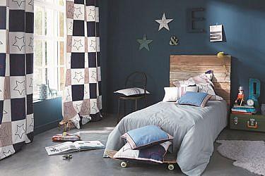 "Summer Camp - קולקציית טקסטיל לחדרי ילדים. רנבי   צילום: יח""צ"