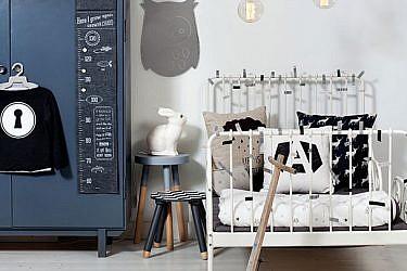עיצוב חדר ילדים   הפקה וסטיילינג אורית עציון, צילום: בועז לביא