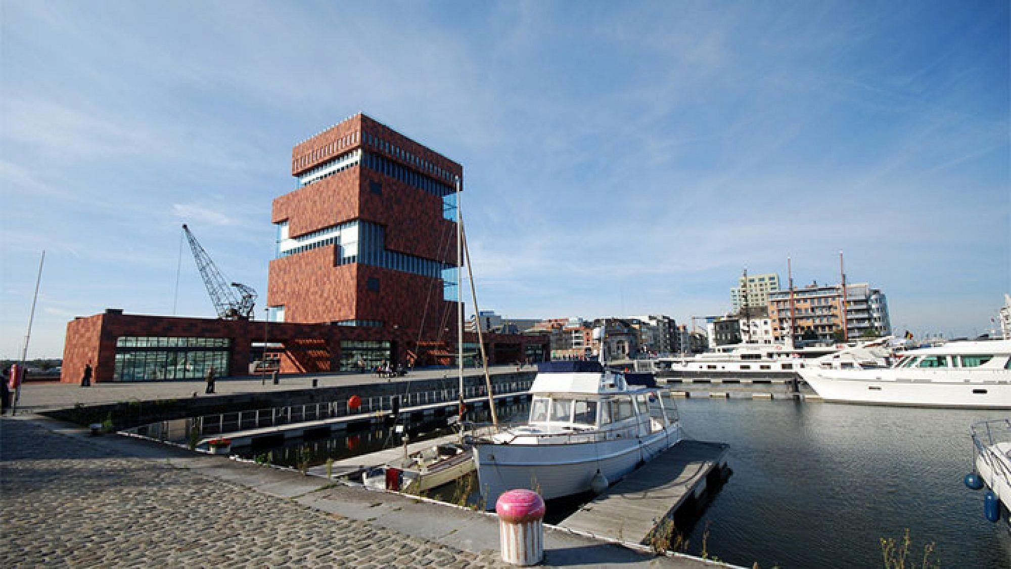 מוזיאון מאס, אנטוורפן, בלגיה. צילום: shutterstock