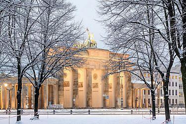 ברלין בשלג | צילום: shutterstock