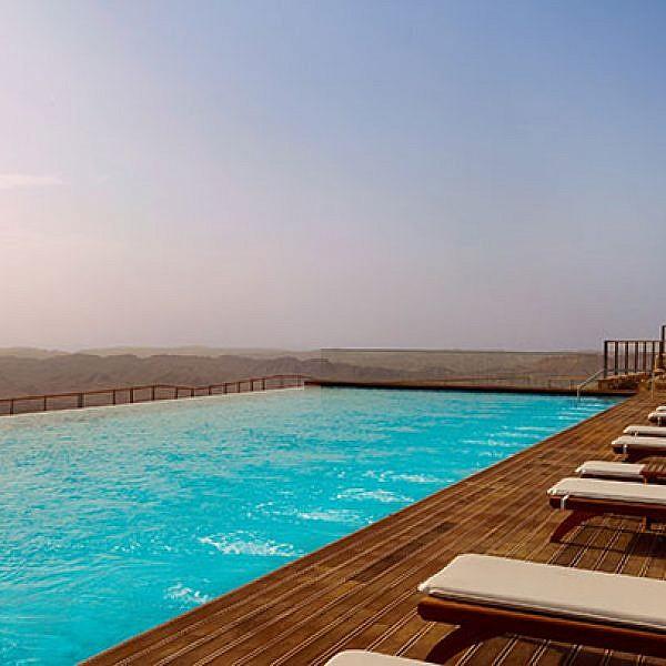 מלון בראשית, מצפה רמון | צילום: אסף פינצוק