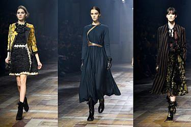 לנווין לחורף 2015-16. שבוע האופנה בפריז. צילום: gettyimages