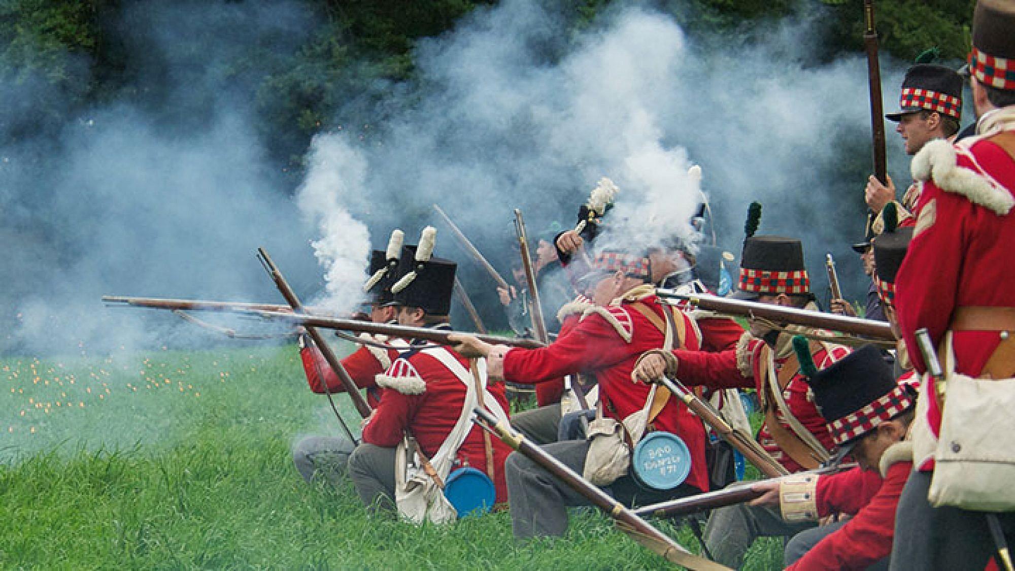 מהלכי קרב ווטרלו נלמדים עד היום באקדמיות הצבאיות | צילום: פיל תומסון