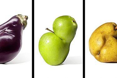 גם לירקות מעוותים מגיעה הזדמנות | צילום: מתוך הקמפיין Inglorious Fruits and Vegetables של רשת המרכולים הצרפתית אינטרמרשה