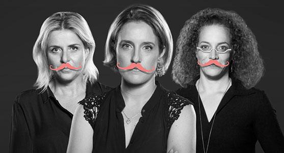 קמפיין ההשקה של מיזם פרסונה היוצא נגד הדרת נשים דוברות מכנסים וועידות ציבוריות   אילן בשור למקאן