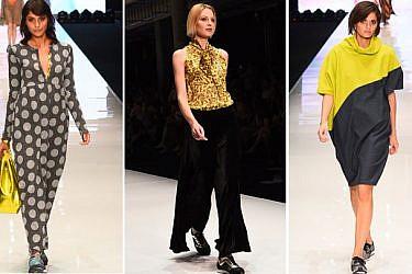 מתוך תצוגת אלמביקה, שבוע האופנה גינדי תל אביב 2015 | צילום: שי פרנקו