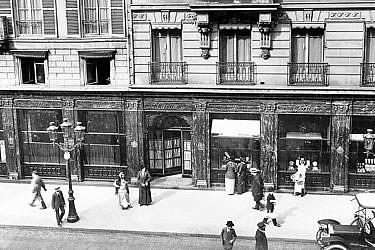 """החנות הראשונה של קרטייה בפריז   צילום: יח""""צ"""