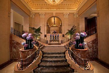 """לובי מלון הפנינסולה   צילום: יח""""צ"""