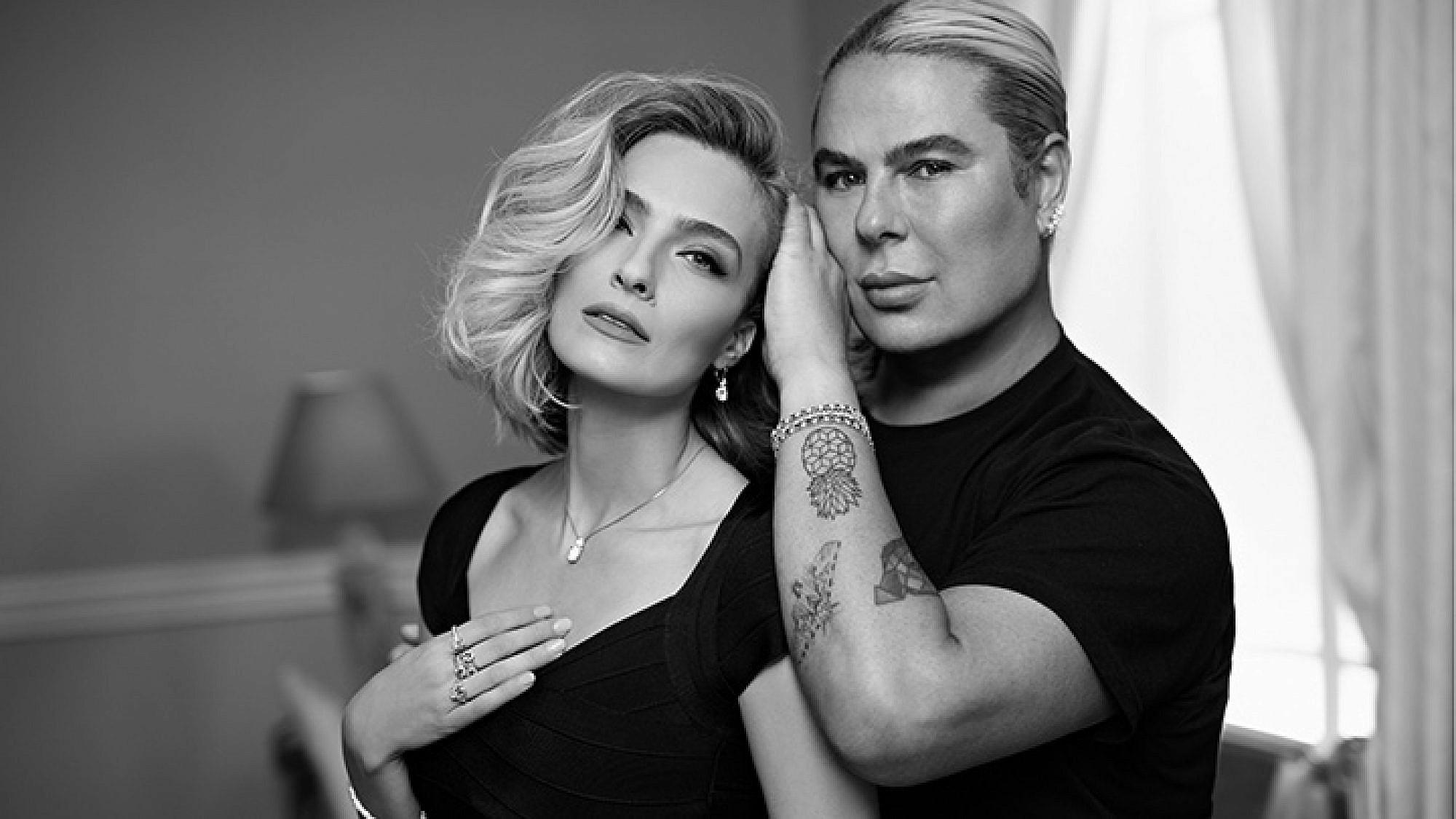 מיקי בוגנים ואילנית לוי ל-DF | צילום: דודי חסון
