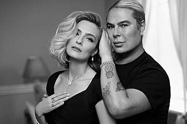 מיקי בוגנים ואילנית לוי ל-DF   צילום: דודי חסון