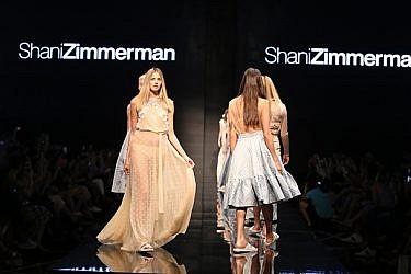 מתוך תצוגת האופנה של שני צימרמן   צילום: אבי ולדמן
