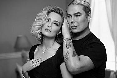 מיקי בוגנים ואילנית לוי בקמפיין ל- DF- DiamonFire | צילום: דודי חסון