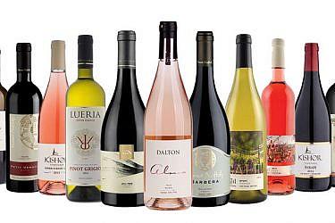 מבחר יינות מיקבי הגליל