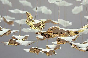 מערכת תאורה של Haberdashery המוצגת בפסטיבל העיצוב בלונדון