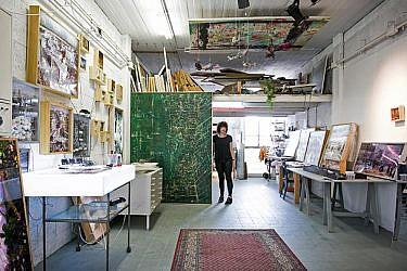 הסטודיו הייחודי של רוני סתר   צילום: שירן כרמל
