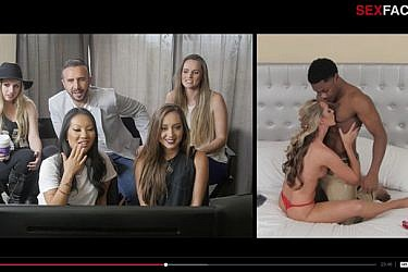 """צילומי מסך מתוך הסדרה """"The Sex Factor"""""""