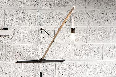 התוצר הסופי: גוף תאורה מג(ני)ב | צילום: איליה מלינקוב