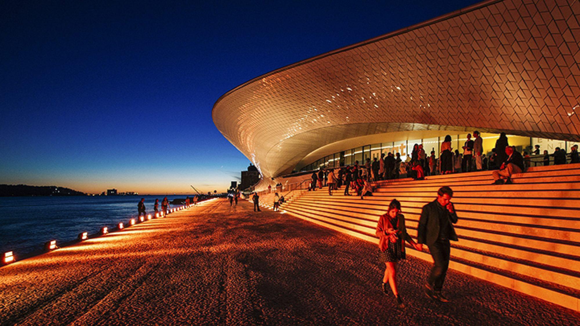 MAAT: המוזיאון לתרבות, אדריכלות וטכנולוגיה בליסבון | צילום: Francisco Nogueira