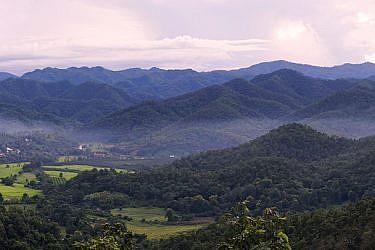 יופי שהעין מתקשה להתרגל אליו. לנה לנד, צפון תאילנד   צילום: אדי גרלד