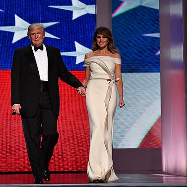 דונלד ומלניה טראמפ | צילום: GettyImages