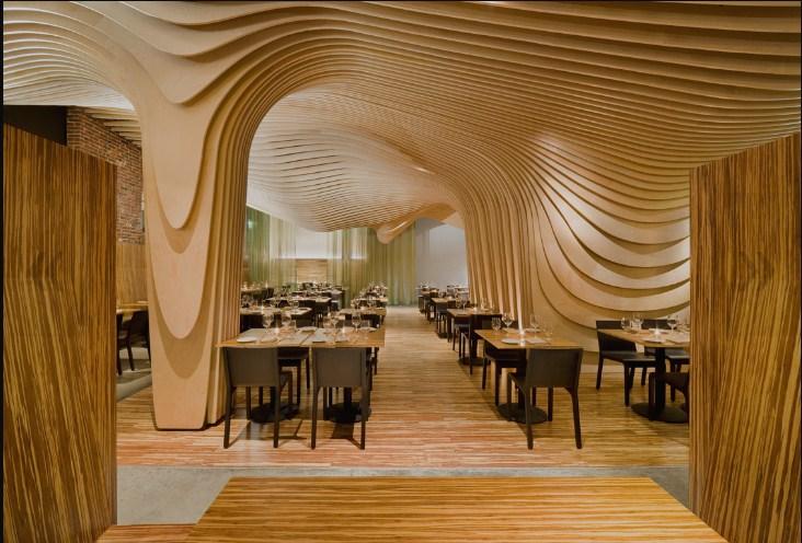 מסעדת Banq   עיצוב: Office dA   באדיבות NADAAA