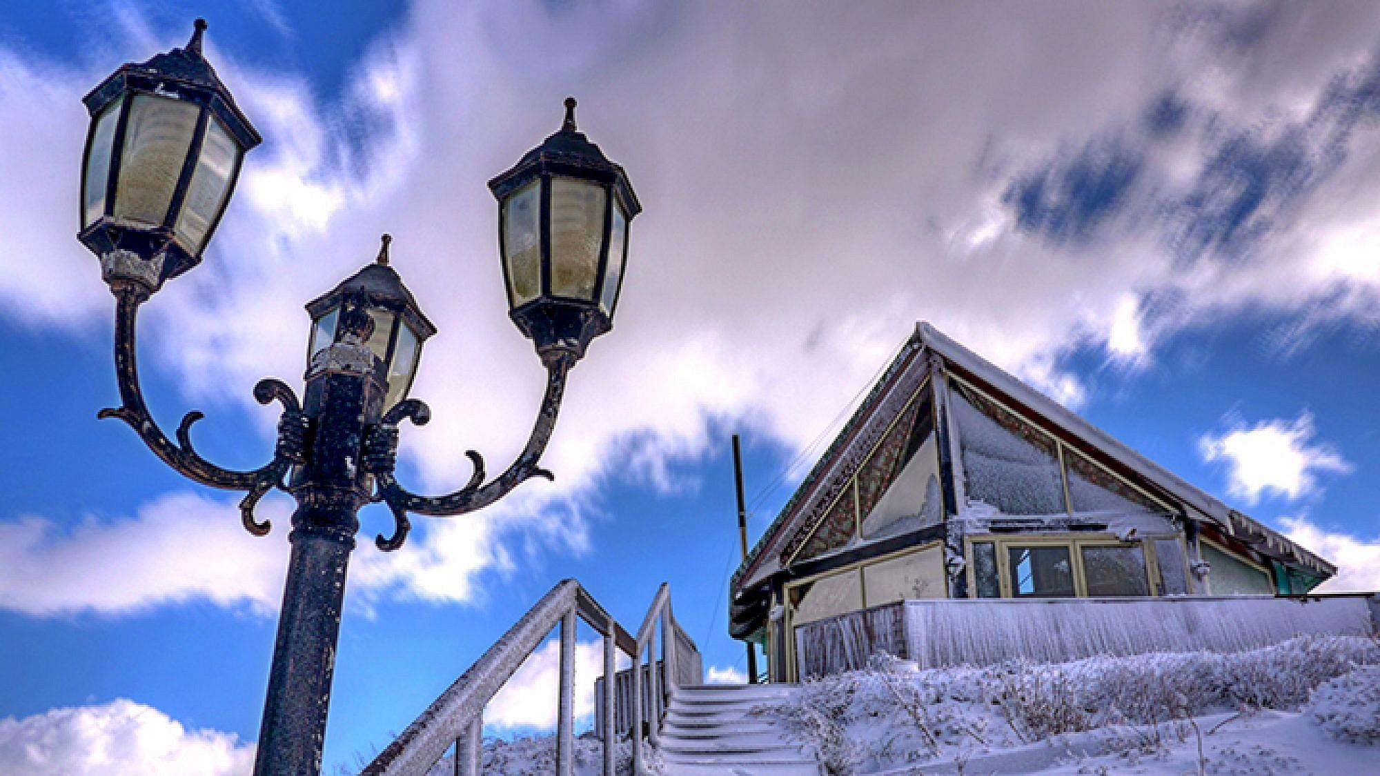 מבט מבחוץ: הבקתות הנעות ברוח | צילום: Snowfix