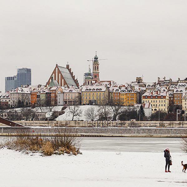 חורף פנורמי | צילום: המכון הפולני בתל אביב Warsaw Tourist Office