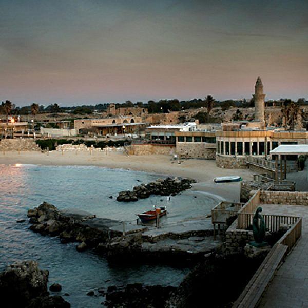 נמל קיסריה   צילום: בועז אופנהיים
