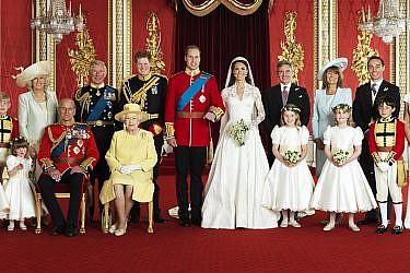 החתונה המלכותית   צילום: AFP PHOTO/HUGO BURNAND/CLARENCE HOUSE