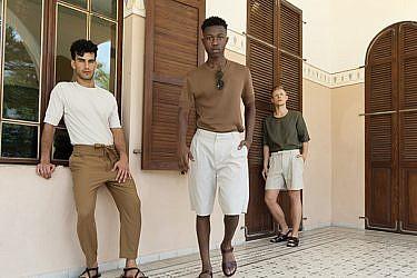 צילום: גיא נחום לוי | סטיילינג: שי לי נסים | דוגמנים: סרגיי ריאבצ'וק, מוחמד דאוד ועומרי ביטון ליולי מודלס