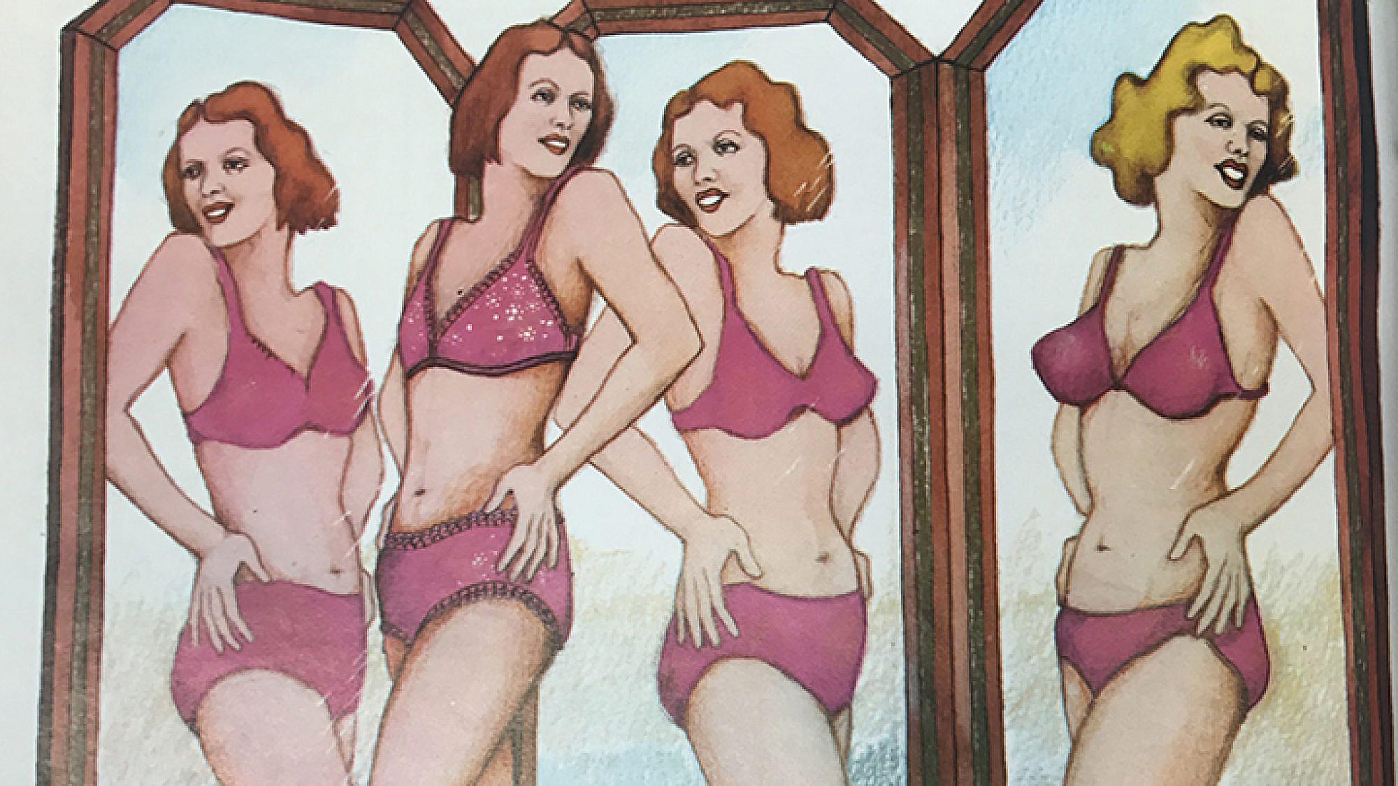 ״איזה אופי או פסיכו־פיגוריזם״ | ״את״, גיליון 75, מרץ 1975