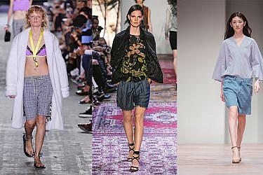 """מימין לשמאל: מכנסיים של JNBY בבוטיק INN7, מחיר 300 ש""""ח; מארק קיין, מחיר 900 ש""""ח; אלכסנדר וונג"""