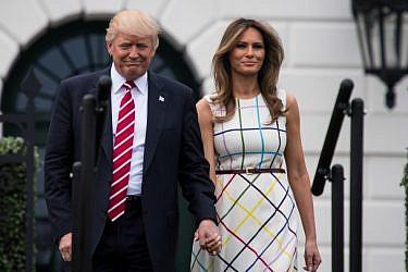מלניה ודונלד טראמפ | צילום: GettyImages