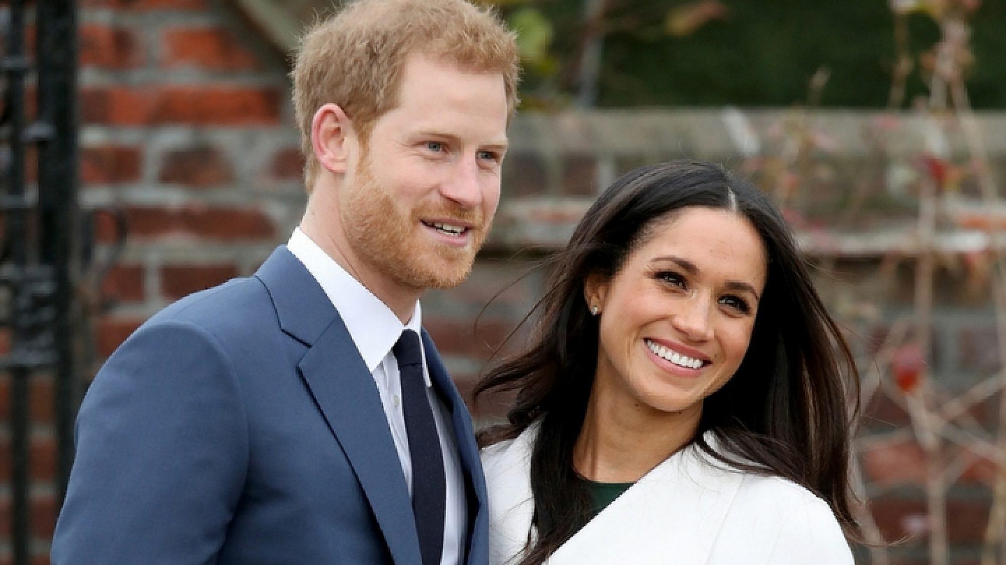 מייגן מרקל והנסיך הארי   צילום: Gettyimages