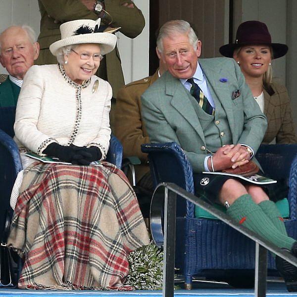 הנסיך צ'רלס והמלכה אליזבת | צילום: Gettyimages