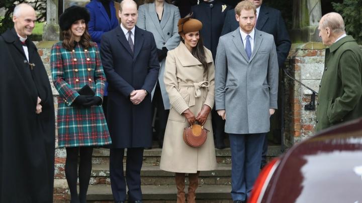 הנסיך הארי, מייגן מרקל, הנסיך וויליאם וקייט מידלטון | צילום: Gettyimages