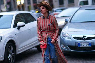 בלוגרית האופנה Aida Domenech בשבוע האופנה במילאנו | צילום: אסף ליברפרוינד The Streetvibe