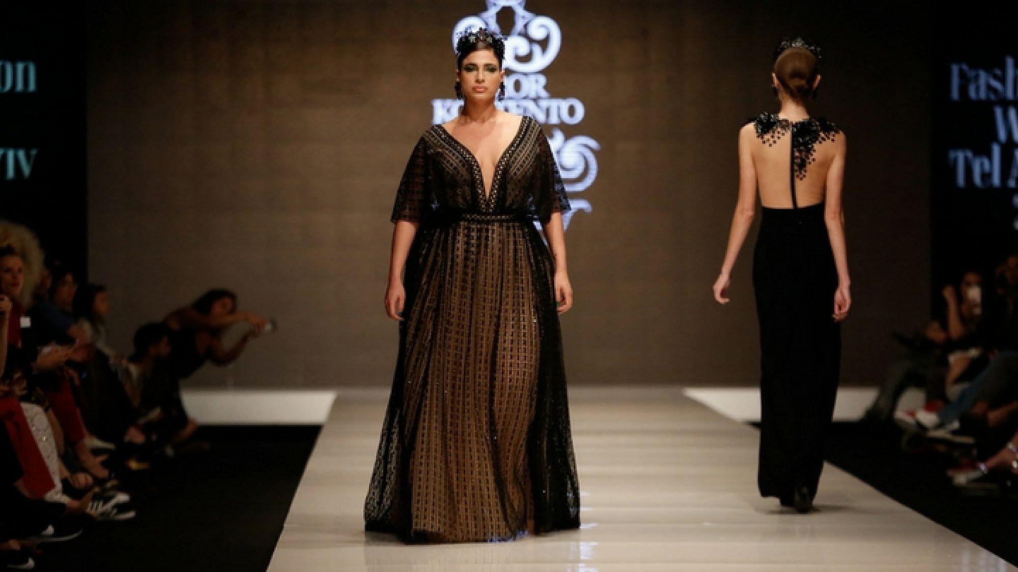 התצוגה של דרור קונטנטו בשבוע האופנה תל אביב 2018 | צילום: אדריאן סבל