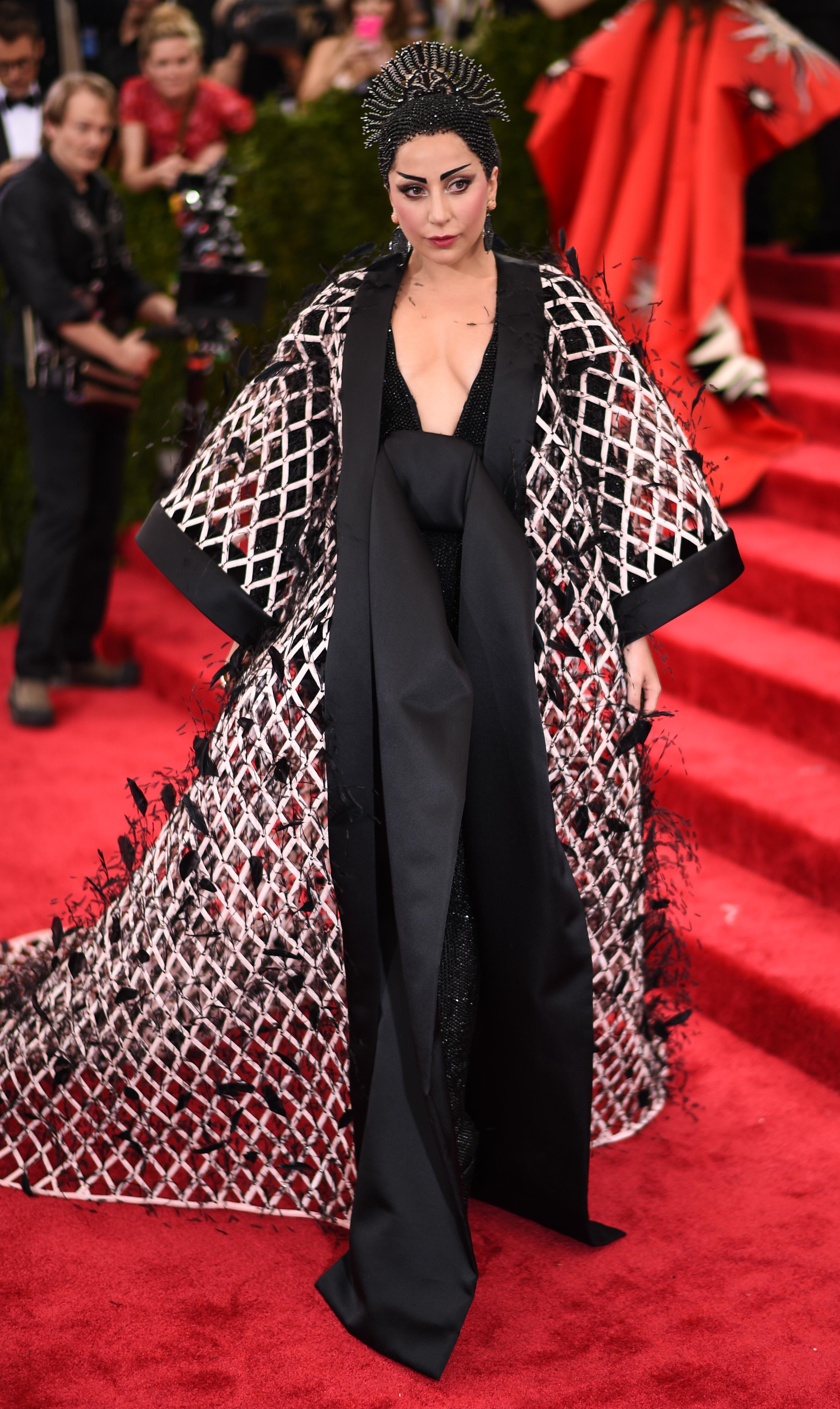 ליידי גאגא במט גאלה 2015 | צילום: Gettyimages