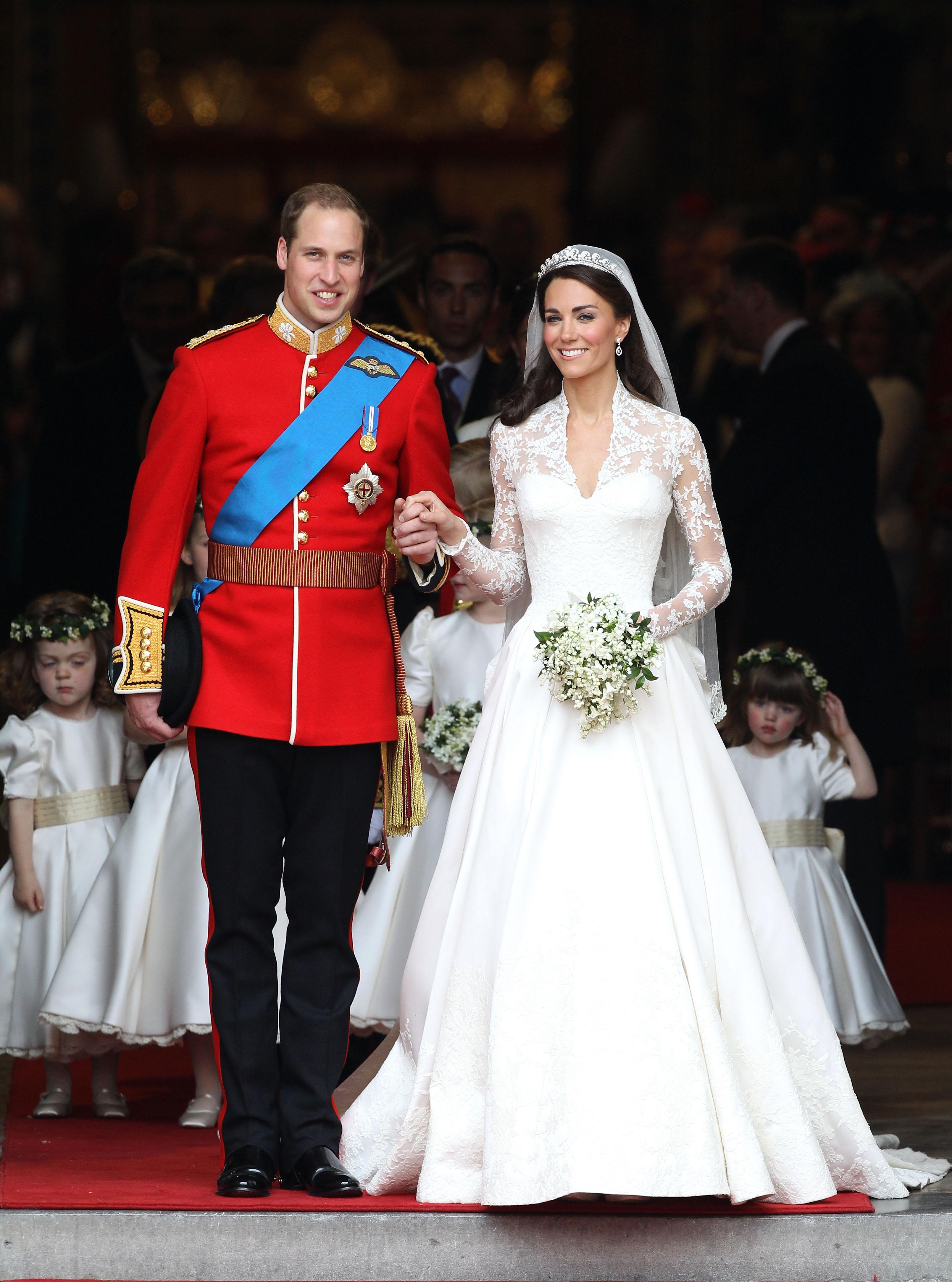 החתונה המלכותית של הנסיך וויליאם וקייט מידלטון ב-2011 | צילום: Gettyimages