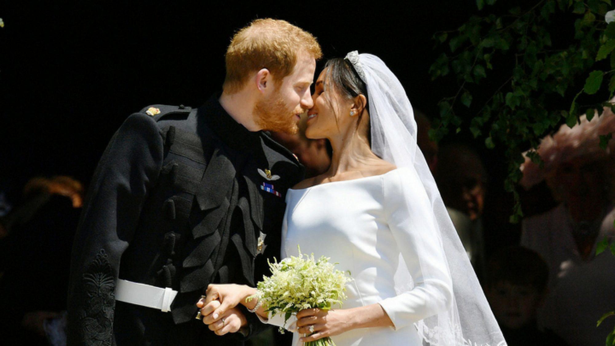 קול חתן וקול כלה: הנסיך הארי ומייגן מרקל זוג נשוי | צילום: Gettyimages