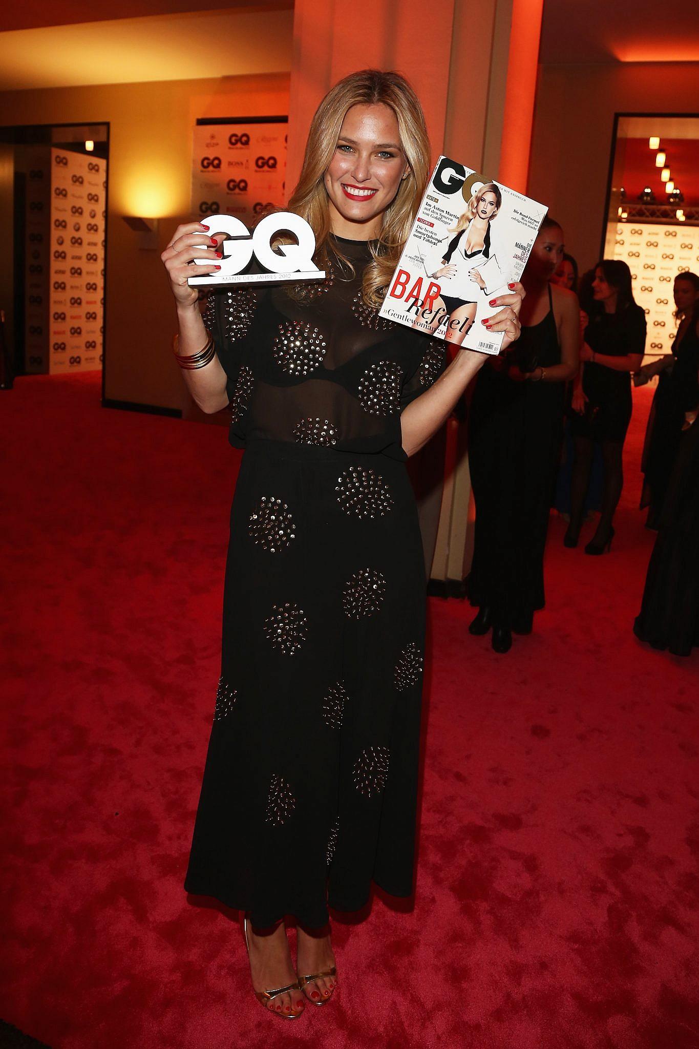 חיוך של טופמודל: רפאלי בטקס אנשי השנה של מגזין GQ, שנת 2012   צילום: Andreas Rentz/Getty Images