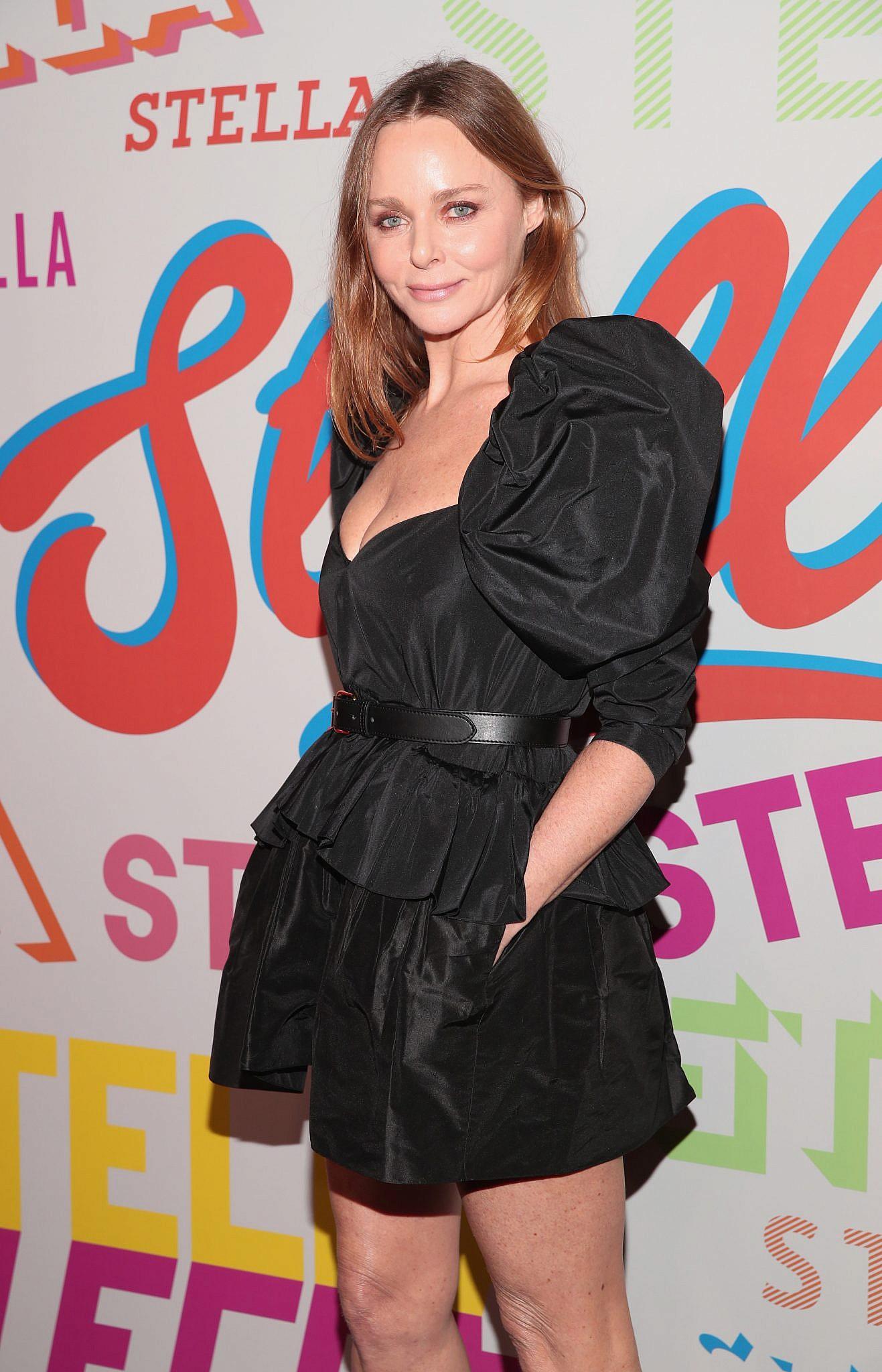 הגברת הטבעונית הראשונה של עולם האופנה: המעצבת סטלה מקרטני | צילום: Christopher Polk/Getty Images