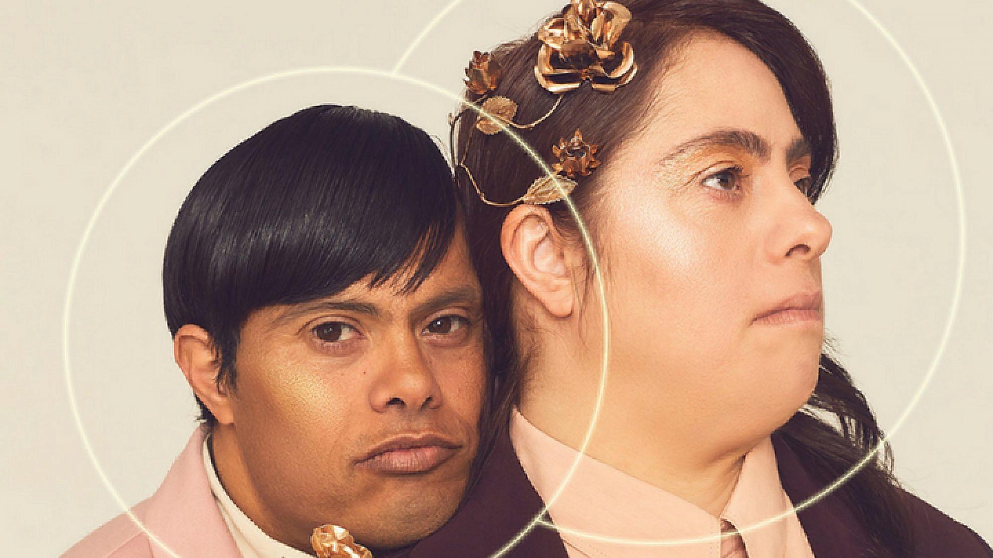 טלי ואודי, זוג עם תסמונת דאון, בהפקת האופנה של The Radical Beauty Project | צילום: לירון ויסמן