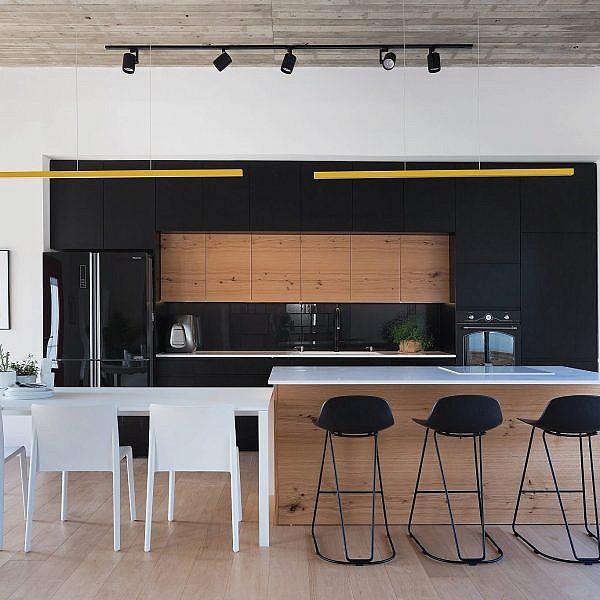 עיצוב פנים: בית פרטי במושב נס הרים   אדריכלות: אלון כהן, צילום: שי אפשטיין