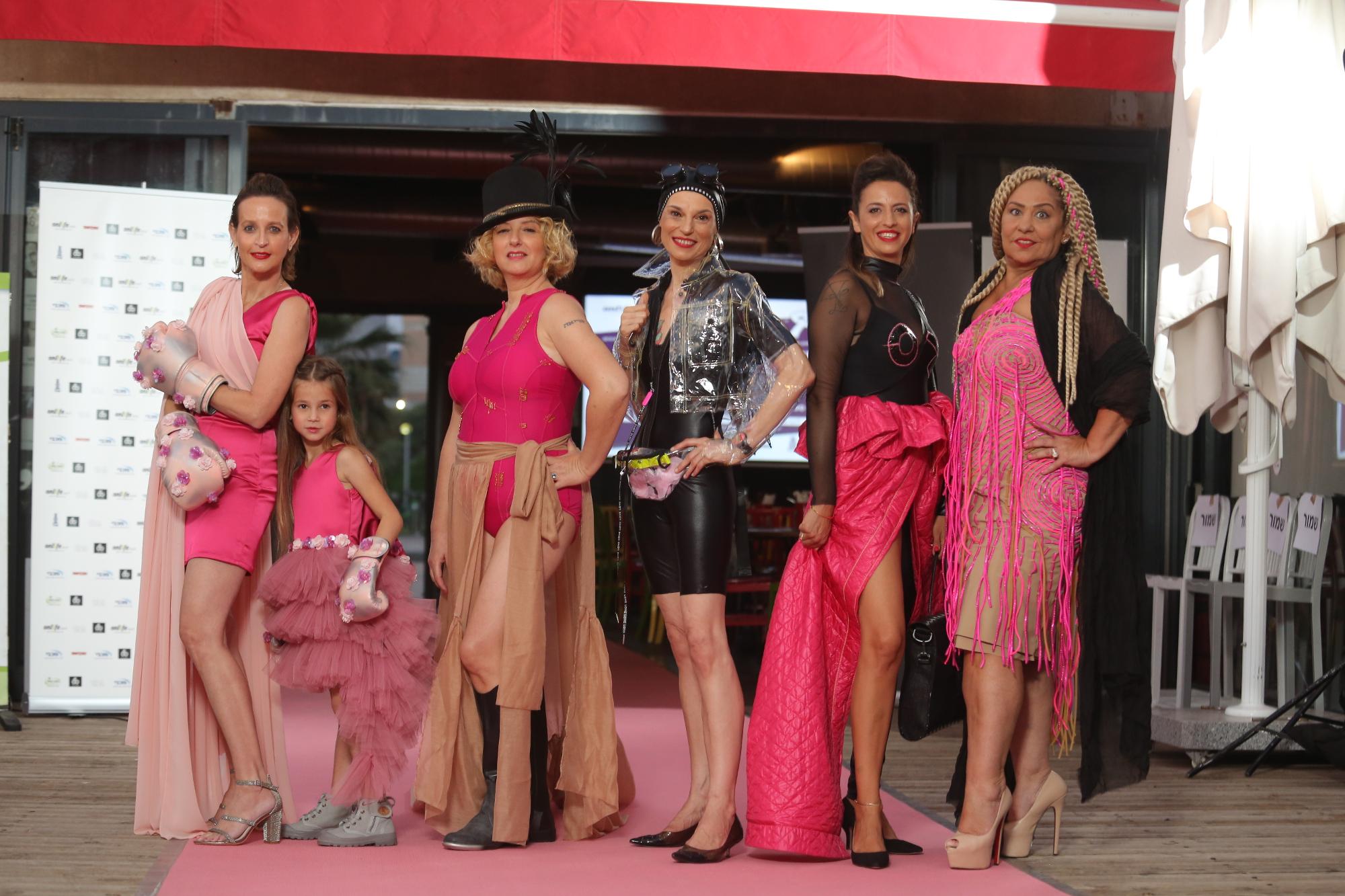 תצוגת האופנה של סטודיו 6b. על המסלול: נשים שהחלימו מסרטן השד | צילום: דביר רוזן