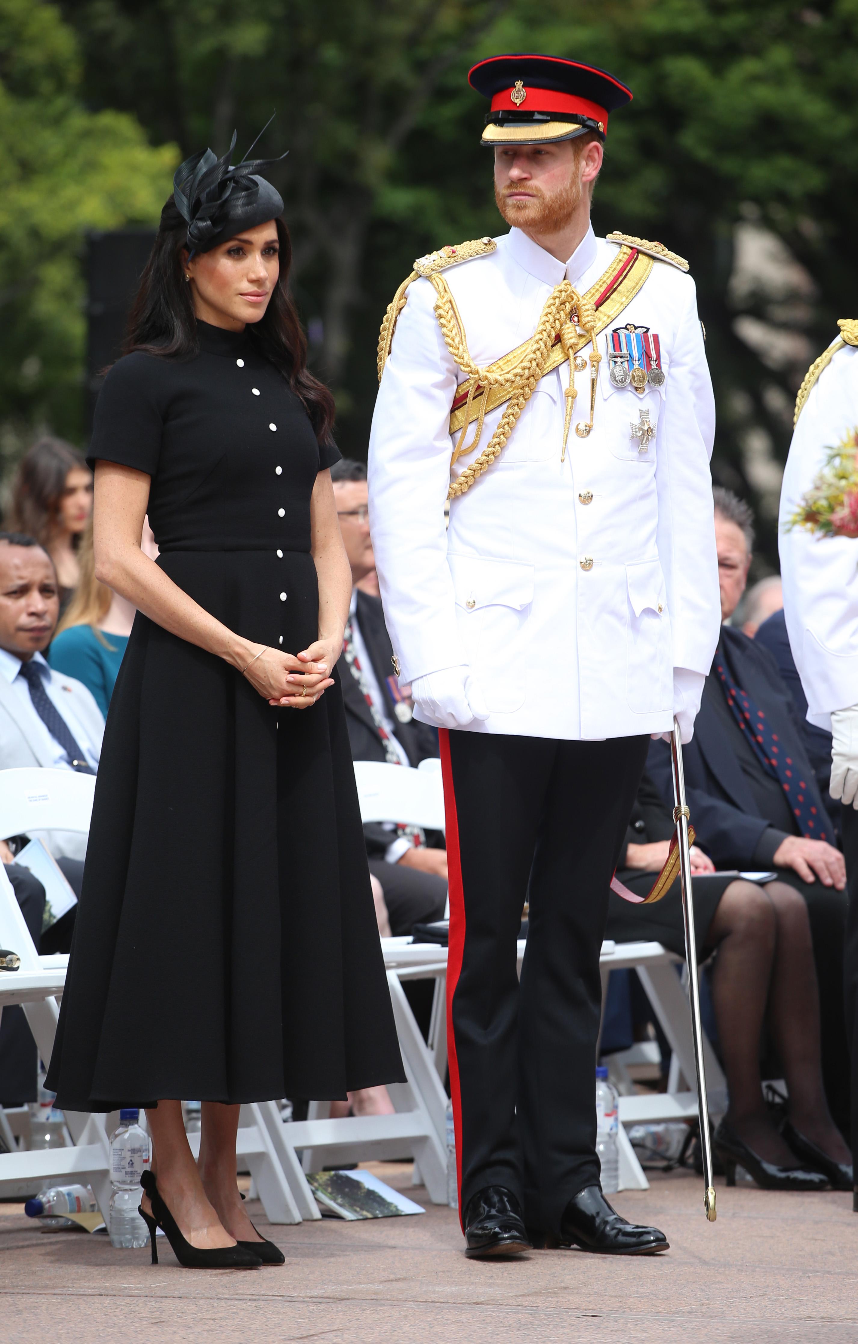 מייגן מרקל והנסיך הארי | צילום: Gettyimages