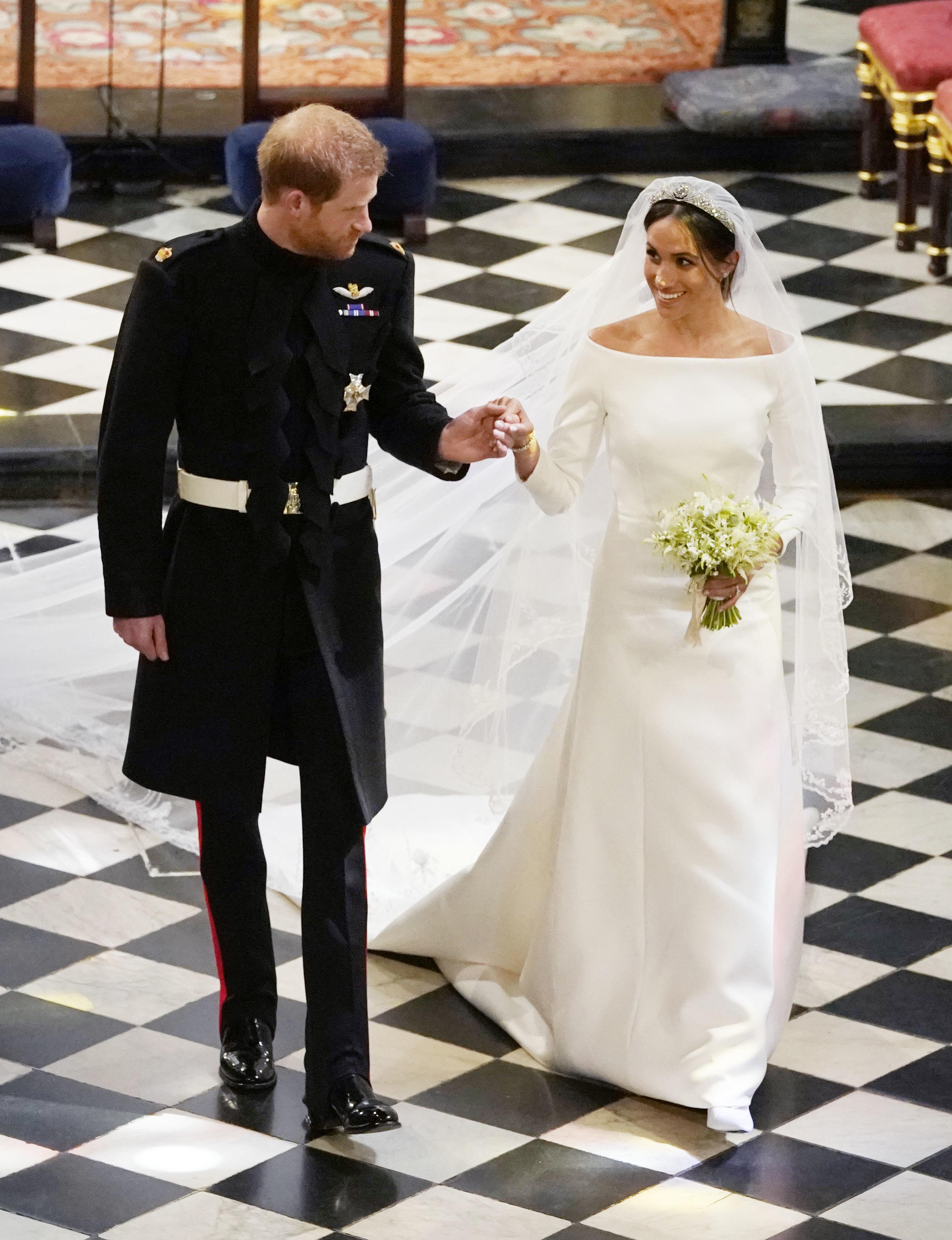 החתונה של מייגן מרקל והנסיך הארי | צילום: גטי